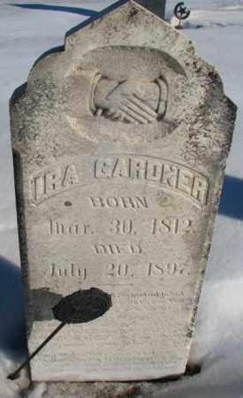 GARDNER, IRA - Union County, South Dakota | IRA GARDNER - South Dakota Gravestone Photos