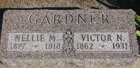 GARDNER, VICTOR N. - Union County, South Dakota | VICTOR N. GARDNER - South Dakota Gravestone Photos