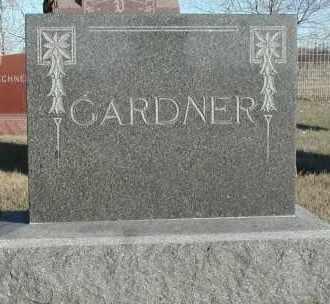 GARDNER, PLOT - Union County, South Dakota | PLOT GARDNER - South Dakota Gravestone Photos