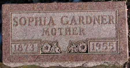 GARDNER, SOPHIA - Union County, South Dakota | SOPHIA GARDNER - South Dakota Gravestone Photos