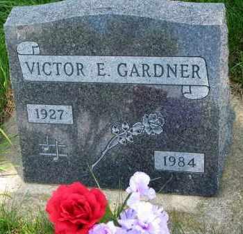 GARDNER, VICTOR E. - Union County, South Dakota   VICTOR E. GARDNER - South Dakota Gravestone Photos
