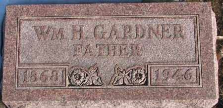 GARDNER, WM. H. - Union County, South Dakota | WM. H. GARDNER - South Dakota Gravestone Photos