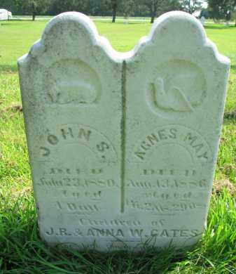 CATES, AGNES MAY - Union County, South Dakota | AGNES MAY CATES - South Dakota Gravestone Photos
