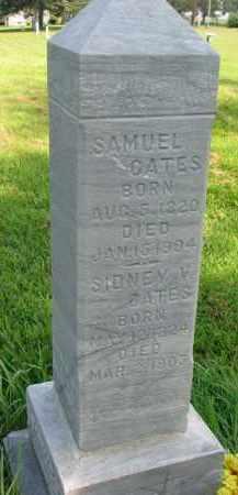 CATES, SIDNEY V. - Union County, South Dakota | SIDNEY V. CATES - South Dakota Gravestone Photos