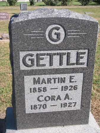 GETTLE, MARTIN E. - Union County, South Dakota | MARTIN E. GETTLE - South Dakota Gravestone Photos