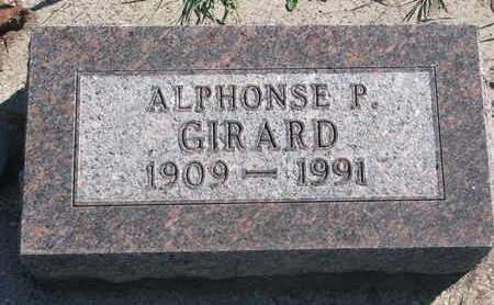 GIRARD, ALPHONSE P. - Union County, South Dakota   ALPHONSE P. GIRARD - South Dakota Gravestone Photos