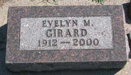 GIRARD, EVELYN M. - Union County, South Dakota | EVELYN M. GIRARD - South Dakota Gravestone Photos