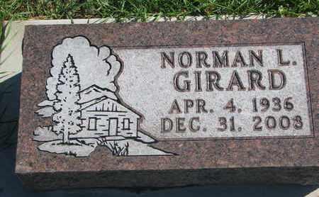 GIRARD, NORMAN L. - Union County, South Dakota | NORMAN L. GIRARD - South Dakota Gravestone Photos