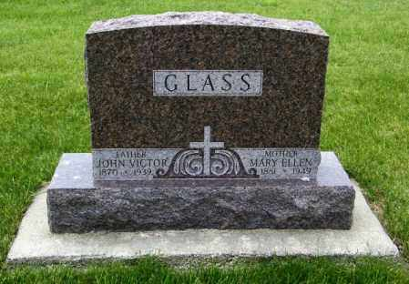 GLASS, JOHN VICTOR - Union County, South Dakota | JOHN VICTOR GLASS - South Dakota Gravestone Photos