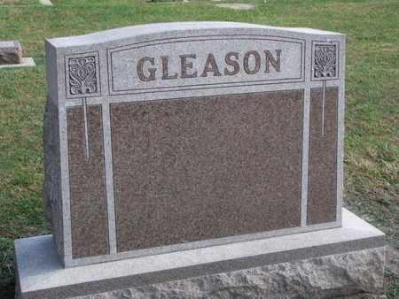 GLEASON, FAMILY STONE - Union County, South Dakota   FAMILY STONE GLEASON - South Dakota Gravestone Photos