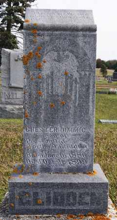GLIDDEN, CHESTER DIMMIC - Union County, South Dakota   CHESTER DIMMIC GLIDDEN - South Dakota Gravestone Photos