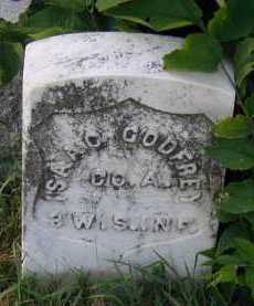 GODFREY, ISAAC T. (MILITARY) - Union County, South Dakota | ISAAC T. (MILITARY) GODFREY - South Dakota Gravestone Photos