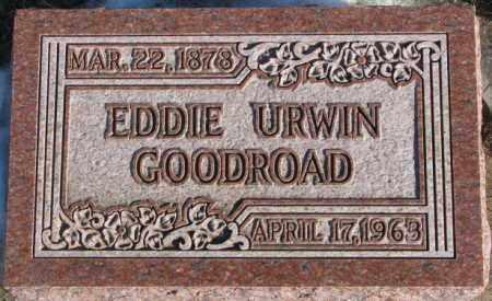 GOODROAD, EDDIE URWIN - Union County, South Dakota | EDDIE URWIN GOODROAD - South Dakota Gravestone Photos