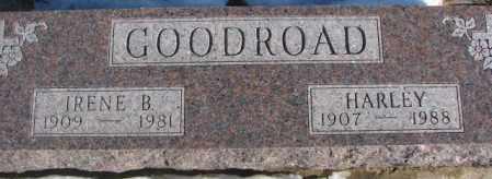 GOODROAD, IRENE B. - Union County, South Dakota | IRENE B. GOODROAD - South Dakota Gravestone Photos
