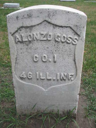 GOSS, ALONZO WALDO - Union County, South Dakota | ALONZO WALDO GOSS - South Dakota Gravestone Photos