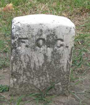 GOSS, F.O. - Union County, South Dakota | F.O. GOSS - South Dakota Gravestone Photos