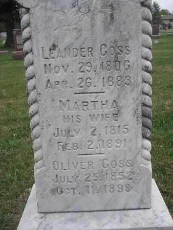 GOSS, LEANDER (CLOSEUP) - Union County, South Dakota | LEANDER (CLOSEUP) GOSS - South Dakota Gravestone Photos