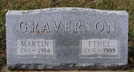 GRAVERSON, MARTIN - Union County, South Dakota | MARTIN GRAVERSON - South Dakota Gravestone Photos