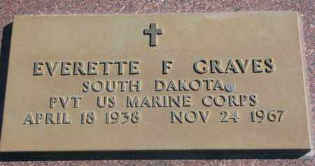 GRAVES, EVERETTE F. (MILITARY) - Union County, South Dakota | EVERETTE F. (MILITARY) GRAVES - South Dakota Gravestone Photos
