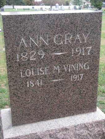 VINING, LOUISE M. - Union County, South Dakota   LOUISE M. VINING - South Dakota Gravestone Photos