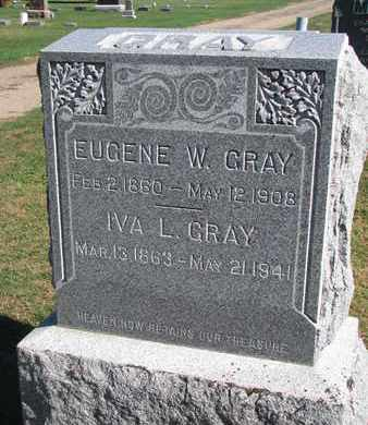 GRAY, IVA L. - Union County, South Dakota | IVA L. GRAY - South Dakota Gravestone Photos