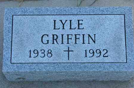 GRIFFIN, LYLE - Union County, South Dakota | LYLE GRIFFIN - South Dakota Gravestone Photos