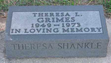 SHANKLE GRIMES, THERESA L. - Union County, South Dakota | THERESA L. SHANKLE GRIMES - South Dakota Gravestone Photos