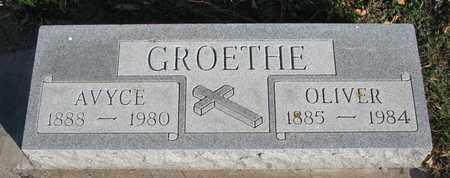 GROETHE, AVYCE - Union County, South Dakota | AVYCE GROETHE - South Dakota Gravestone Photos