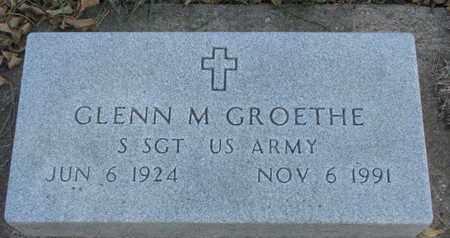 GROETHE, GLENN M. - Union County, South Dakota   GLENN M. GROETHE - South Dakota Gravestone Photos