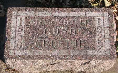 GROETHE, GURO - Union County, South Dakota | GURO GROETHE - South Dakota Gravestone Photos
