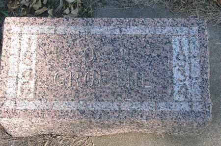 GROETHE, O.M. - Union County, South Dakota   O.M. GROETHE - South Dakota Gravestone Photos