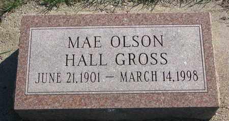 OLSON HALL GROSS, MAE - Union County, South Dakota | MAE OLSON HALL GROSS - South Dakota Gravestone Photos