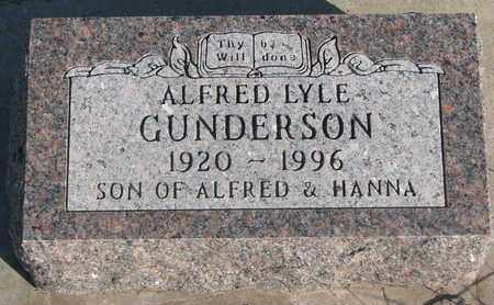 GUNDERSON, ALFRED LYLE - Union County, South Dakota | ALFRED LYLE GUNDERSON - South Dakota Gravestone Photos
