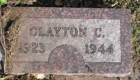 GUNDERSON, CLAYTON C. - Union County, South Dakota | CLAYTON C. GUNDERSON - South Dakota Gravestone Photos