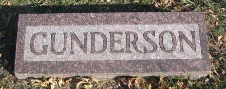 GUNDERSON, FAMILY STONE - Union County, South Dakota | FAMILY STONE GUNDERSON - South Dakota Gravestone Photos