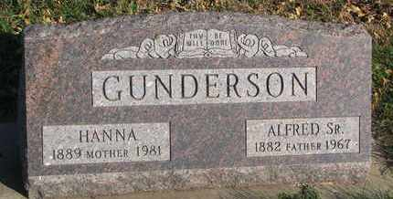 GUNDERSON, HANNA - Union County, South Dakota | HANNA GUNDERSON - South Dakota Gravestone Photos