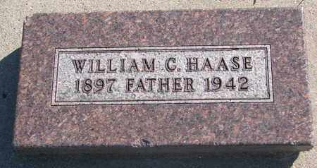 HAASE, WILLIAM C. - Union County, South Dakota | WILLIAM C. HAASE - South Dakota Gravestone Photos