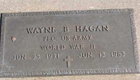 HAGAN, WAYNE B. (WORLD WAR II) - Union County, South Dakota | WAYNE B. (WORLD WAR II) HAGAN - South Dakota Gravestone Photos