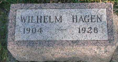 HAGEN, WILHELM - Union County, South Dakota | WILHELM HAGEN - South Dakota Gravestone Photos