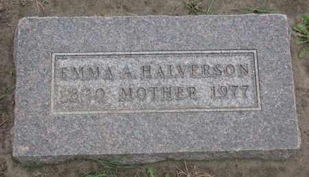 HALVERSON, EMMA A. - Union County, South Dakota | EMMA A. HALVERSON - South Dakota Gravestone Photos
