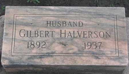 HALVERSON, GILBERT - Union County, South Dakota   GILBERT HALVERSON - South Dakota Gravestone Photos