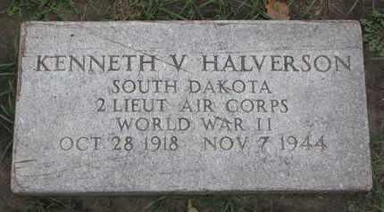 HALVERSON, KENNETH V. (WORLD WAR II) - Union County, South Dakota | KENNETH V. (WORLD WAR II) HALVERSON - South Dakota Gravestone Photos