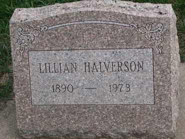 HALVERSON, LILLIAN - Union County, South Dakota   LILLIAN HALVERSON - South Dakota Gravestone Photos