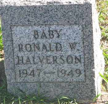 HALVERSON, RONALD W. - Union County, South Dakota | RONALD W. HALVERSON - South Dakota Gravestone Photos