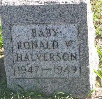 HALVERSON, RONALD W. - Union County, South Dakota | RONALD W. HALVERSON - South Dakota Gravestone Photos