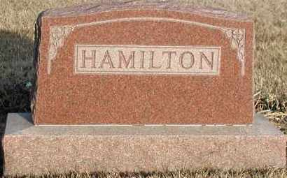 HAMILTON, PLOT - Union County, South Dakota | PLOT HAMILTON - South Dakota Gravestone Photos