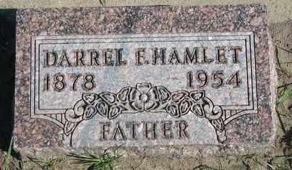 HAMLET, DARREL F. - Union County, South Dakota | DARREL F. HAMLET - South Dakota Gravestone Photos