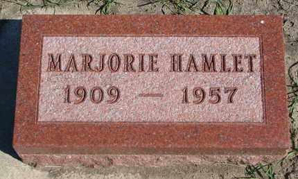 HAMLET, MARJORIE - Union County, South Dakota | MARJORIE HAMLET - South Dakota Gravestone Photos