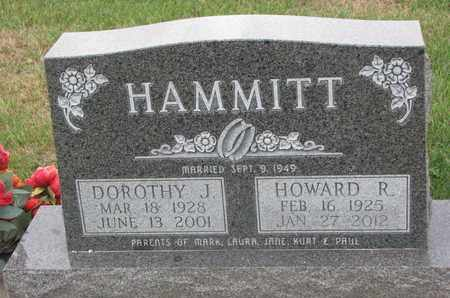 HAMMITT, DOROTHY J. - Union County, South Dakota | DOROTHY J. HAMMITT - South Dakota Gravestone Photos