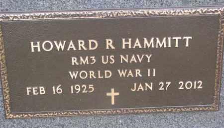 HAMMITT, HOWARD R. (WORLD WAR II) - Union County, South Dakota | HOWARD R. (WORLD WAR II) HAMMITT - South Dakota Gravestone Photos